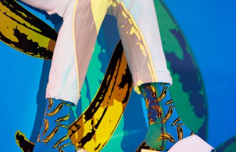СЕЛЕКЦИЯ: Весели чорапи с Andy Warhol